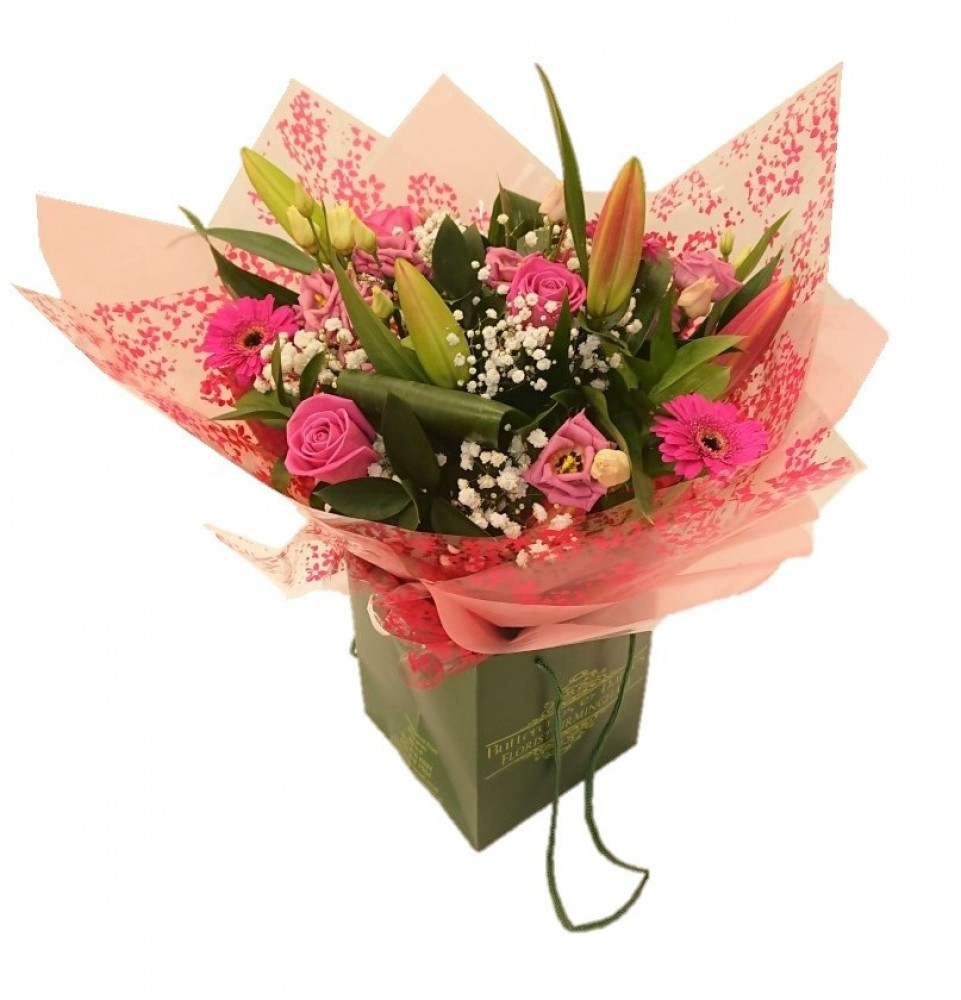 Pink Radiance Hand Tied