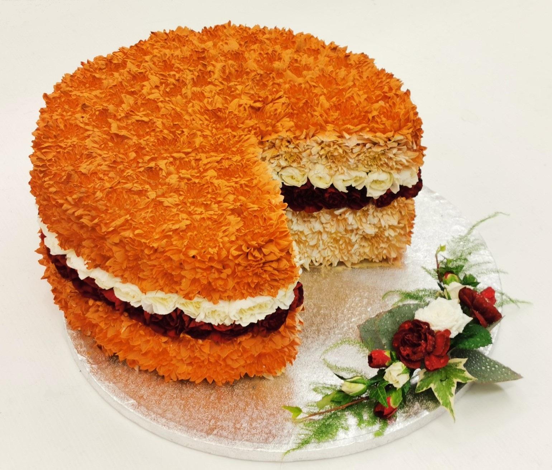 Victoria Sponge Cake Funeral Tribute