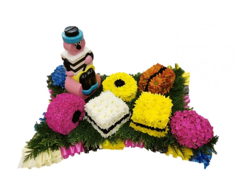 Bertie Bassett Allsorts Floral Tribute