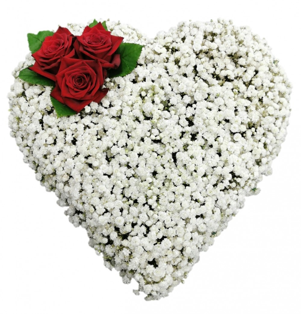 Gypsophilia Heart
