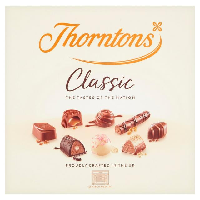 Thorntons Classic chocolates