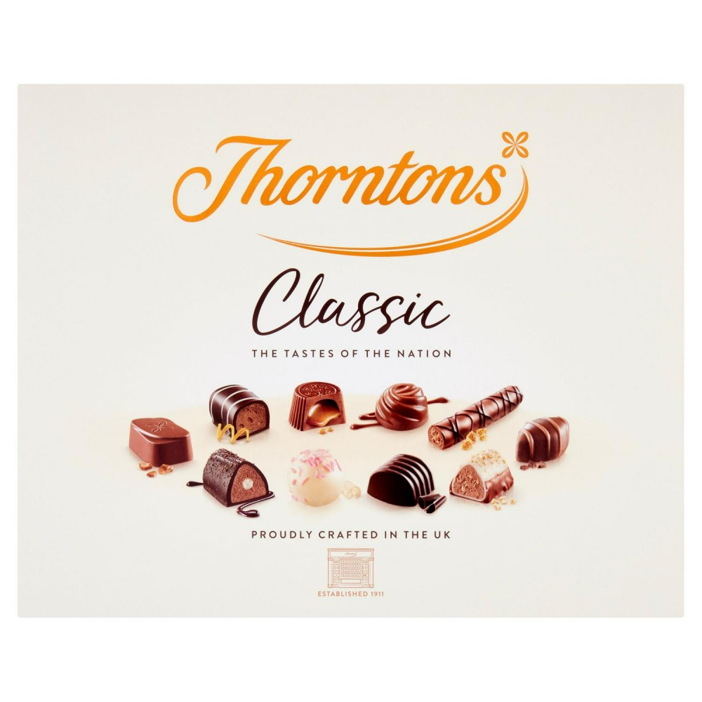 Thorntons Classic chocolates 449g